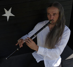 Olivier Milchberg playing Kaval flute