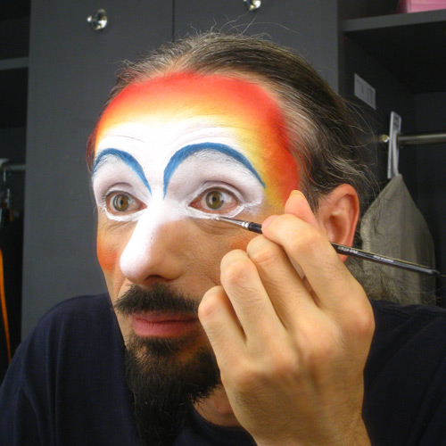 Make up Cirque du Soleil Zaia